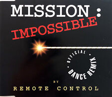 Remote Control Maxi CD Mission: Impossible (Official Dance Remix) - France