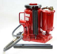 20 TON AIR over Hydraulic BOTTLE JACK Butterfly Trigger Automotive Lift Tools