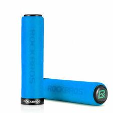 RockBros Cycling Bike Bicycle Single Lock Sponge Handlebar Grips 22.2mm Blue