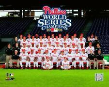 2008 PHILADELPHIA PHILLIES World Series Team LICENSED Utley, Hamels++ 8x10 photo