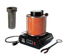 Melting Smelting Furnace Graphite boiler Crucible furnace Melting Tools 220V 2Kg
