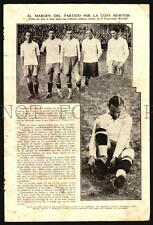 SOCCER FOOTBALL PRE 1930 URUGUAY ARGENTINA RACING LIPTON ORIGINAL PERIOD PRINTS