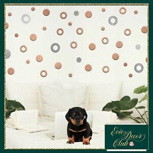 Bubble Wall Decals Set Nursery vinyl stickers Polka Dot Confetti laundry bubbles
