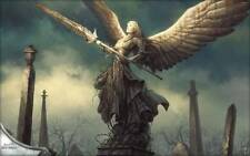 Poster Magic The Gathering: THE GATHERING MTG Cards Fantasy Angels Tomb #1