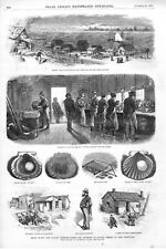 Scenes & Incidents of Scallop Fishing at East Greenwich, Rhode Island  -  1877