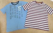 Boy bundle x 2 t-shirts 9-10 y summer excellent condition