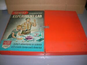 GILBERT CHEMISTRY EXPERIMENT LAB 12042 EMPTY BOX - LOOK - MAKE OFFERS!!!!