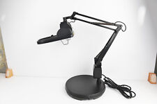 Electrix 7428 BLACK Magnifier Lamp, Halogen, 3-Diopter, Weighted Base Mounting,