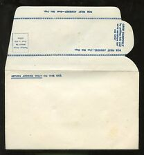 ENVELOPE c1945 REPLY...PAPER SAVER