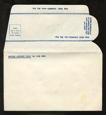 ENVELOPE c1945 REPLY...PAPER SAVER