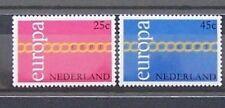 Nederland  Netherlands 990-991 Verenigd  Europa 1971 luxe postfris