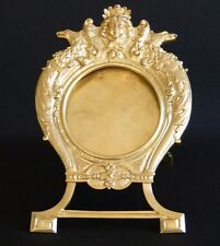 Cadre Napoléon III, Bronze Ciselé De Style Louis XIV, XIX ème