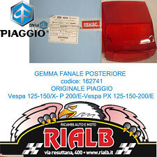 Gemma Vetro Fanale Fanalino Stop 162741 ORIGINALE PIAGGIO Vespa P 200 / E