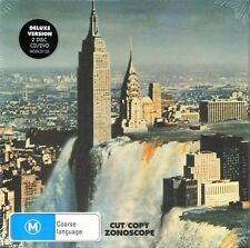 CUT COPY - ZONOSCOPE DELUXE EDITION CD/DVD NEW & SEALED