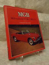 OSPREY AUTOHISTORY MGB ROADSTER & GT MGC MGB V8 F. WILSON McCOMB 1982