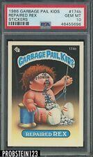 1986 Garbage Pail Kids Stickers #174b Repaired Rex PSA 10 GEM MINT