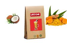 Noix de coco, curcuma Latte, mélangé avec du Miel, Cannelle, girofle, 20 Sachets