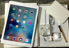 *GRADE A* Apple iPad Air 32GB, Wi-Fi + 3G/4G (Unlock), 9.7in - Silver + EXTRAS
