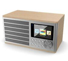 Majority Radio USB WiFi Radio Internet Dual Alarm Clock MP3 Play AUX In