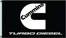 Cummins Banner Flag Turbo Diesel Engine Garage Mechanic Trucks 3X5Ft Banner