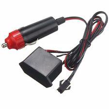 2M 12V Car LED EL Wire Red Cold light lamp Neon Lamp Interior Atmosphere Lights