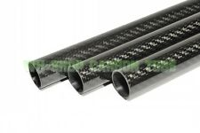 1pc  Roll OD 15mm ID 13mm*500mm Length Glossy Surface 3K Carbon Fiber Tube Pipe