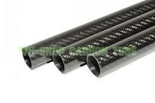 1pcs Roll OD 25mm ID 23mm*500mm Length Glossy Surface 3K Carbon Fiber Tube 25*23