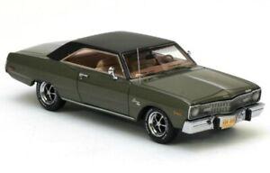 Dodge Dart Swinger Green Metallic / Black Top 1973 1:43 NEO 44406