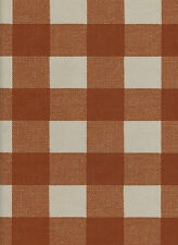 York Buffalo Check Wallpaper  in Rust and Cream  per Double Roll   LL4778