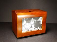 "Schabby Chic 98 - 4x6"" Brown Rotary Photo Box Album Case  Pictures Storage #4"