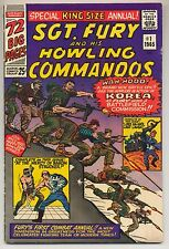 Sgt. Fury & His Howling Commandos Annual #1 (1965) Very Good/Fine (5.0) ~ Marvel