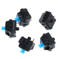 5Pcs mx series mechanical keyboard blue e-switch for replacement useful H&P