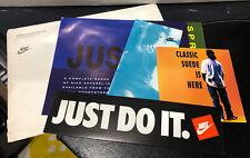 🔥 Rare Genuine 90's Nike/ Puma Australia Footwear/ Apparel Brochures/ Sticker