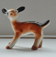 """Vintage Disney Style Deer Fawn Figure - Just 2"""" Tall  A/F"""