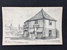 Vintage RP Postcard: Lincs: #T3: Prior Oven, Spalding (Pencil Sketch Repro)
