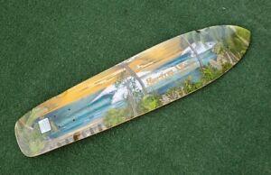"""Sector 9 Nine Laniakea bamboo longboard deck 36.5"""" long 8.75"""" width kicktail"""