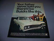 VINTAGE..1967 BUICK GS-400...COLOR SALE AD...RARE! (599M)