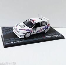 Rally IXO DIECAST 1:43 Toyota Corolla WRC. Loeb-Elena. Rally Corse 2000 -RAL114