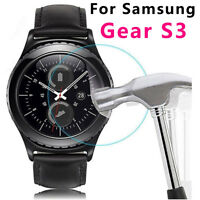 Tempered Glass Screen Protector Film  For Samsung Gear S3 Frontier Smart Watch