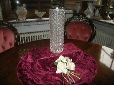 WMF Kristall Vase / 60er-70er Jahre / versilberte Montur