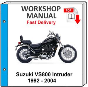 SUZUKI VS800 INTRUDER 800 1992 1993 1994 1995 1996 SERVICE REPAIR SHOP MANUAL