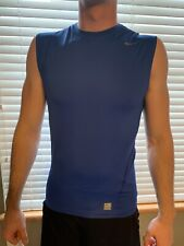 Nike Pro Compression Muscle Shirt Xl Royal Blue