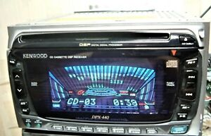 Kenwood DPX-440 Car Stereo CD Cassette player Overhauled Free Shipping