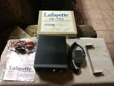 1976 Vintage Lafayette HB-750 23 channel CB and orig mic all works/looks good