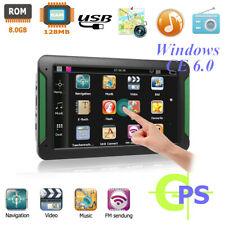 S7 7In HD Touch Screen Truck Car GPS Navigation Navigator FM Radio Transmitter