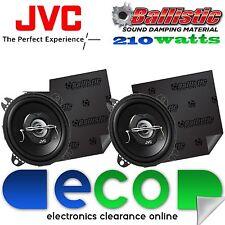 VW Golf MK3 1991-98 JVC 10 cm 210 Watts 2 Way Car Speakers & Sound Deadening
