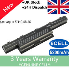 for Acer Aspire As10d31 4741 4743g 5551 5552 5742 7741 7551 5200mah Battery UK