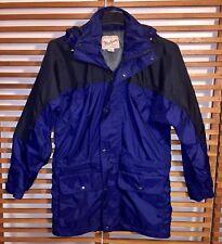 Woolrich HydroMax 2100 Men's S small Jacket Coat Ski Snowboard Field Blue mesh