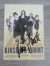 Luise Kinseher original handsignierte Autogrammkarte / T1