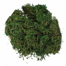 Green Artificial Reindeer Moss For Lining Plant Flower Garland Decor R4Y5